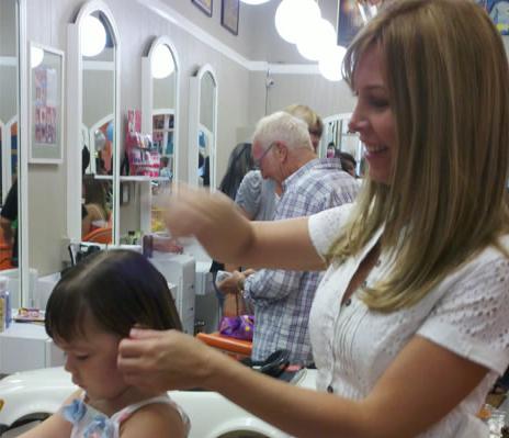 Baby Haircuts Los Angeles